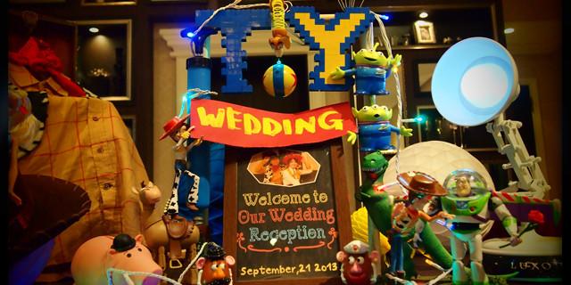 【メイキング】 トイ・ストーリーに結婚式を祝ってもらいました
